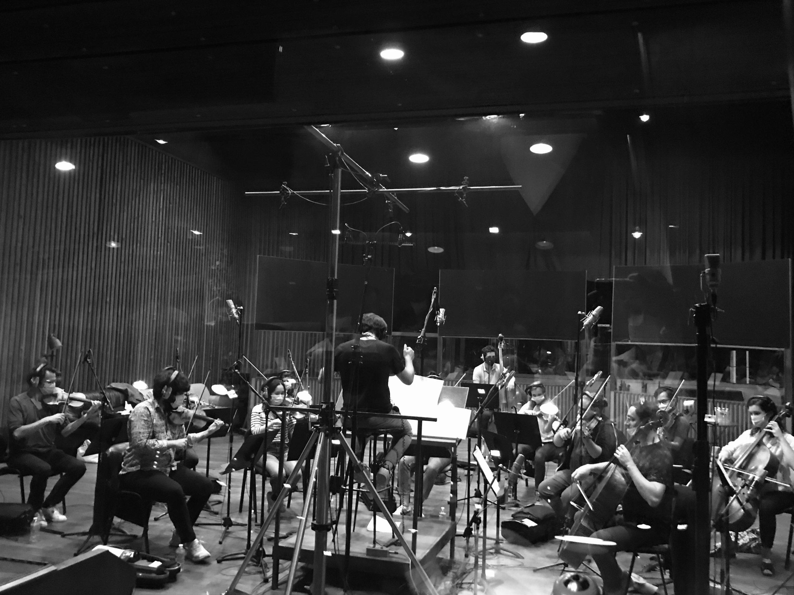 Enregistrement aux studios Ferber – LE DISCOURS