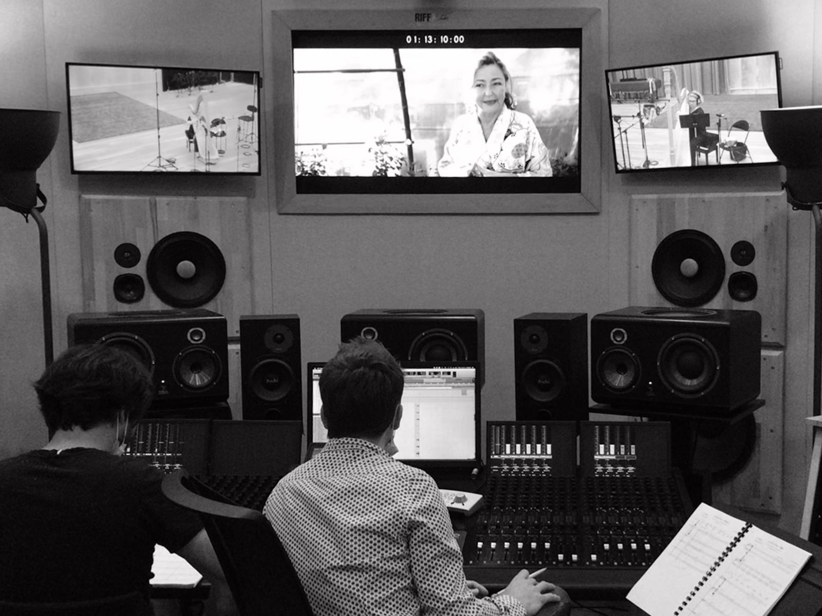 Enregistrement de LA FINE FLEUR aux studios RiffX