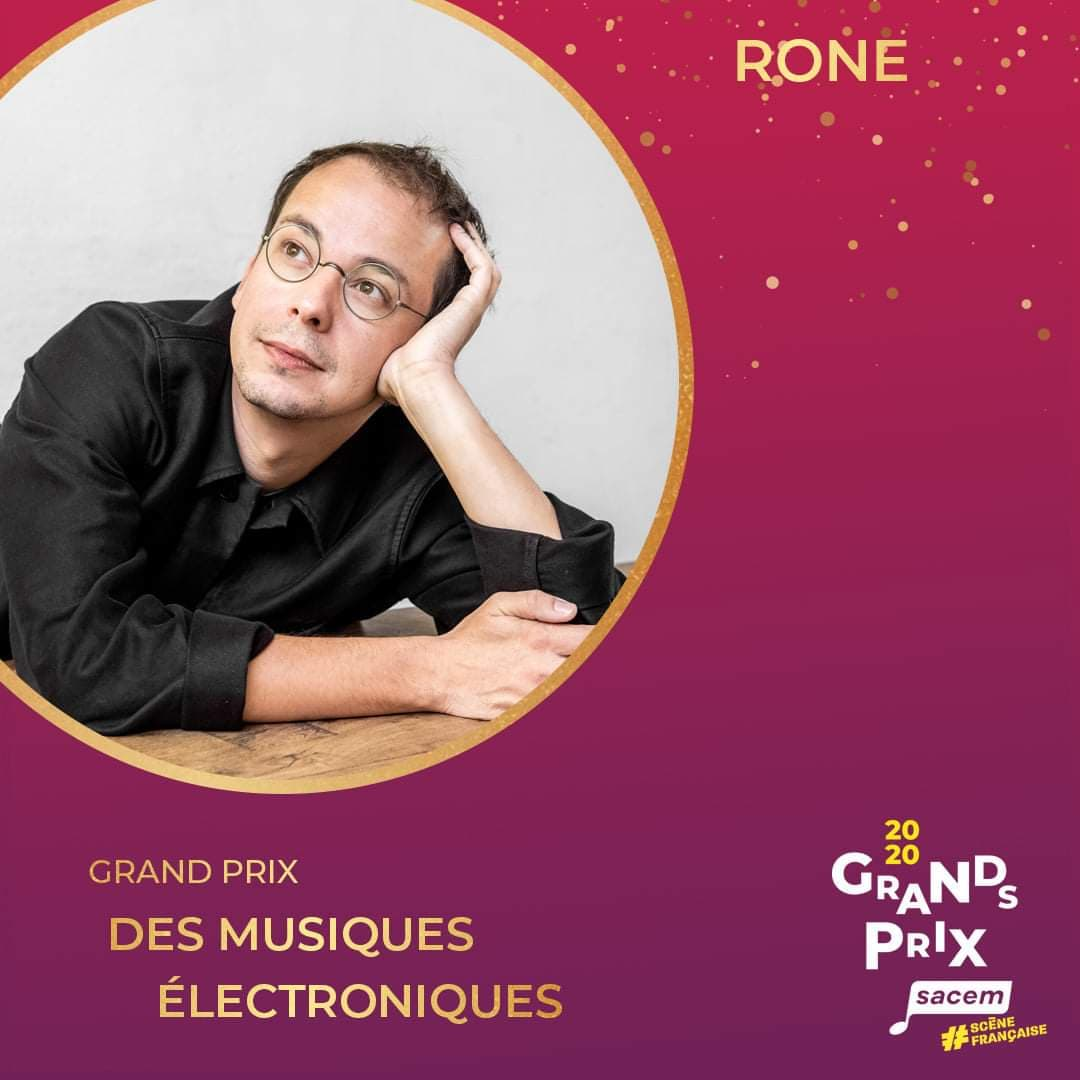 Great SACEM prize awarded to Rone