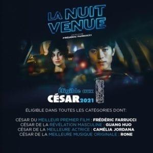 La Musique de «La Nuit Venue» est éligible au César de la meilleure musique originale 2021
