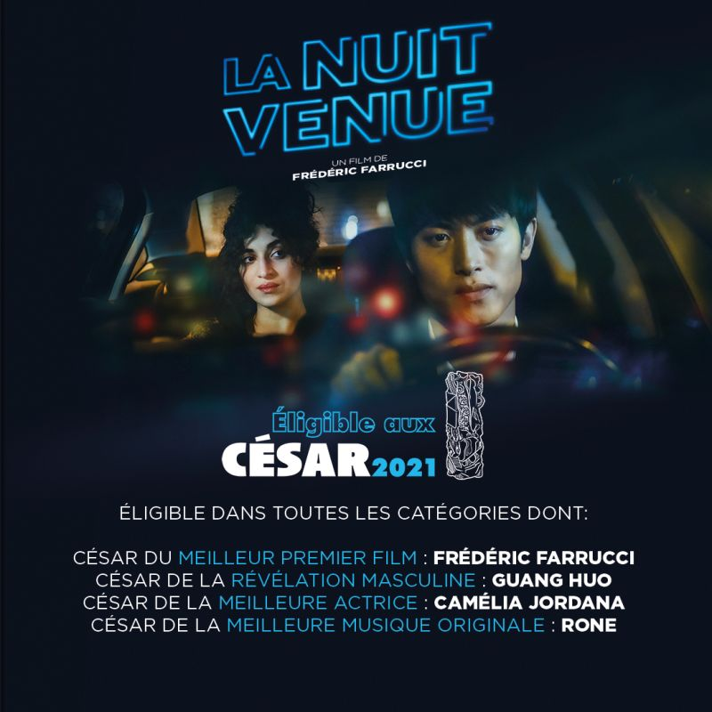 """La Nuit Venue"" original soundtrack is nominated for the César of the best original soundtrack 2021"