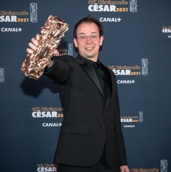 "Rone receives the César for Best Original Music for Frédéric Farrucci's first feature film ""Night Ride"" !"
